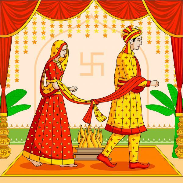 Seven Vows of a Hindu Wedding (विवाह के 7 पवित्र वचन और महत्व)