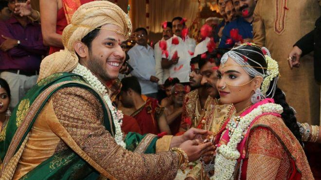 Images of India's huge and stylish wedding