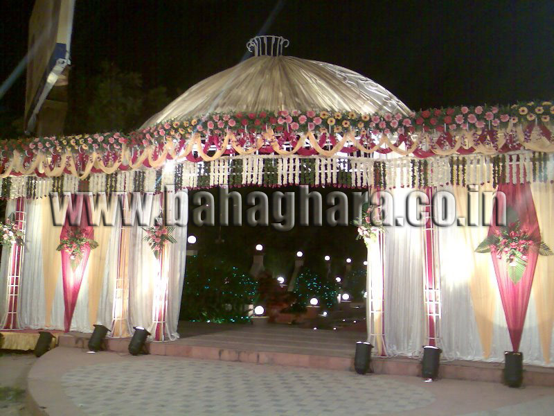 Wedding Entrance Decorations